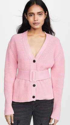 ENGLISH FACTORY Belted Cardigan