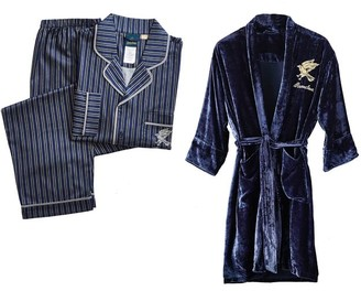 Pottery Barn Teen HARRY POTTER RAVENCLAW Teen Pajama & Robe Set