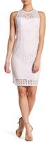 Nanette Lepore Antique Lace Sheath Dress