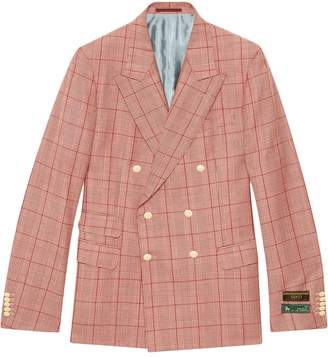 Gucci New Signoria checked jacket