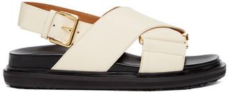 Marni Off-White Fussbett Sandals