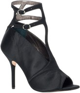 Max Studio Pika - Satin Peep Toe Ankle Strap Evening Sandals