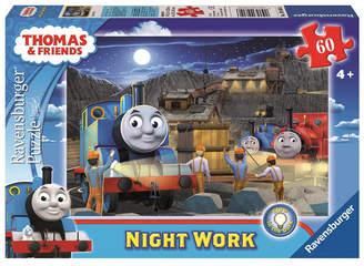 Ravensburger Thomas Friends Glow in the Dark Puzzle - Night Work - 60 Piece