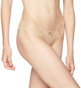 Chantelle C Chic Sexy 3-Part Plunge Underwire Bra / Jeans Print