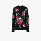 Dolce & Gabbana Flower knitted wool & cashmere sweater