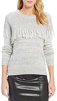 Lucy Paris Grace Fringe Knit Sweater