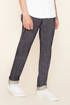 Forever 21 FOREVER 21+ Relaxed-Fit Selvedge Jeans