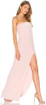 Halston Strapless Gown