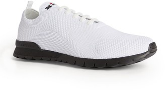 Kiton Knitted Logo Sneakers