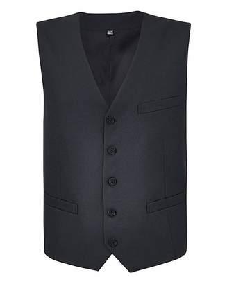 Williams & Brown London Black Value Suit Waistcoat