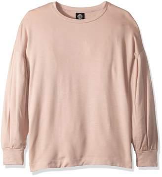 Bobeau Women's Apparel Women's Puff Sleeve Sweatshirt