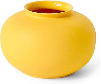"""Middle Kingdom 3"""" Apple Bud Vase - Butter"""