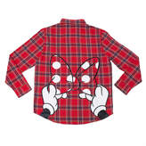 Disney Minnie Mouse Bow Flannel Shirt for Adults by Cakeworthy