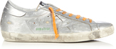 Golden Goose Deluxe Brand Super Star low-top metallic-leather trainers