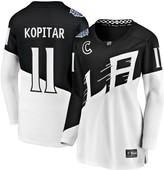 Women's Fanatics Branded Anze Kopitar Black Los Angeles Kings 2020 Stadium Series Breakaway Player Jersey