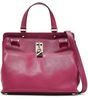 Valentino Garavani Joylock Pebbled-leather Shoulder Bag