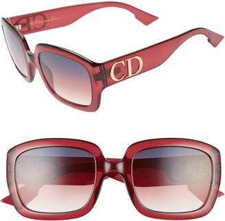Christian Dior 54mm Square Sunglasses