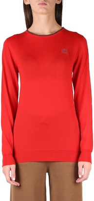 Loewe Red Cashmere Knitwear
