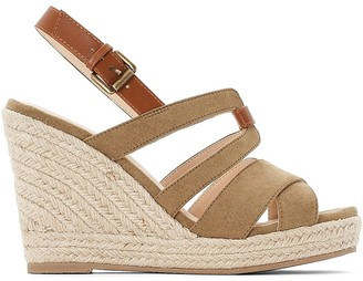 La Redoute Collections High Wedge Sandals