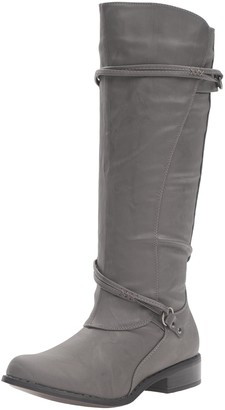 Brinley Co. Women's Olive Riding Boot