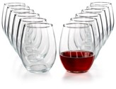 The Cellar Glassware Basics 12-Pc. Stemless Wine Set, Created for Macy's