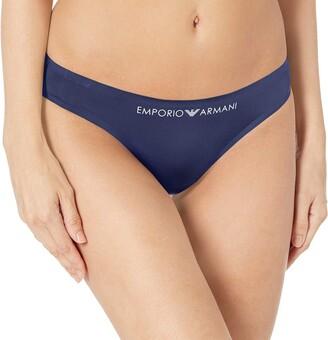 Emporio Armani Women's Bonding Microfiber Thong