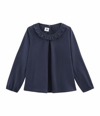 Petit Bateau Girl's Tee Shirt Ml_4964705 Long Sleeve Top