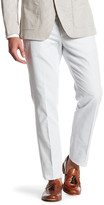 """Bonobos Foundation Grey Woven Regular Fit Double-Pleated Cotton Trouser - 30-32"""" Inseam"""