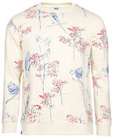Wesc Lovebird AOP Angora Bell Crewneck Sweatshirt