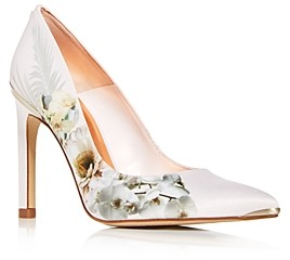 Ted Baker Women's Mwelni Floral Pointed-Toe Pumps