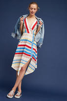 Anthropologie Naomi Striped Dress