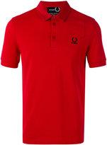 Fred Perry denim pocket pique shirt - men - Cotton - 42