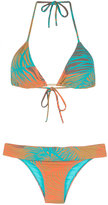 BRIGITTE printed triangle bikini set