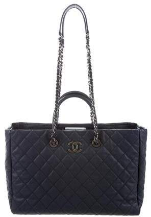 54a94adff537 Chanel Blue Tote Bags - ShopStyle