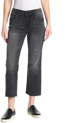 KUT from the Kloth Kelsey High Waisted Ankle Flare Jeans