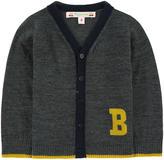 Bonpoint V-necked woollen cardigan