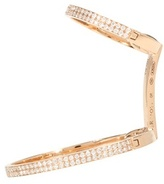 Repossi Elliptique Berbere 18kt Rose Gold Single Earring With Diamonds
