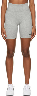 Nike Grey Sportswear Leg-A-See Bike Shorts