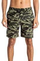 Quiksilver Men's Waisted Camo Swim Trunks