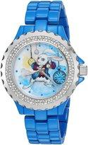 Disney Women's 'The White Rabbit' Quartz Metal and Alloy Automatic Watch, Color: (Model: W003075)