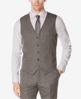 Perry Ellis Men's Wrinkle-Resistant Check Vest