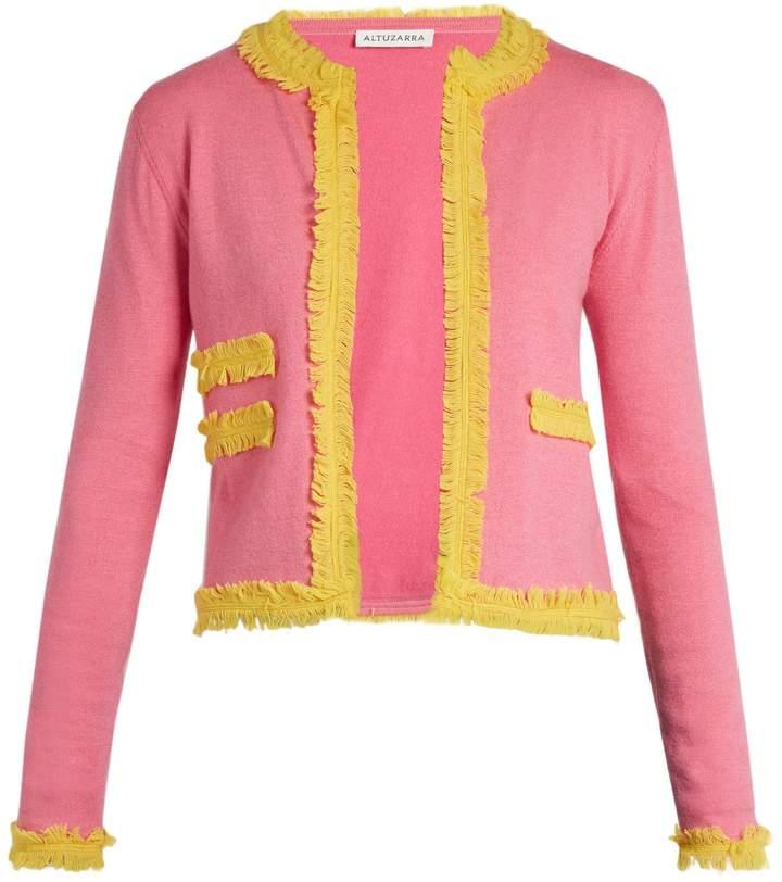 Altuzarra Kirtland tassel embellished-trim cardigan