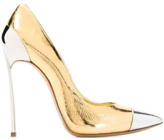 Casadei metallic stiletto pumps
