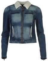 Only Keyla Shearling Denim Jacket