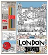 Bendon Adult Coloring Book Kit - London