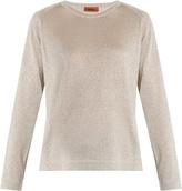 Missoni Round-neck metallic-knit sweater