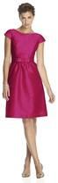 Alfred Sung D568 Bridesmaid Dress in Sangria