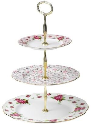 Royal Albert New Country Roses 3 Tier Cake
