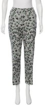 Armani Collezioni Abstract Print Skinny Pants w/ Tags