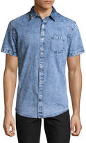 Arizona Short Sleeve Denim Button-Front Shirt